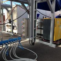Avocado Container gassing underway