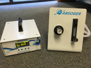NEW HIGH SENSITIVITY PORTABLE OXYGEN ANALYSER HAS ARRIVED
